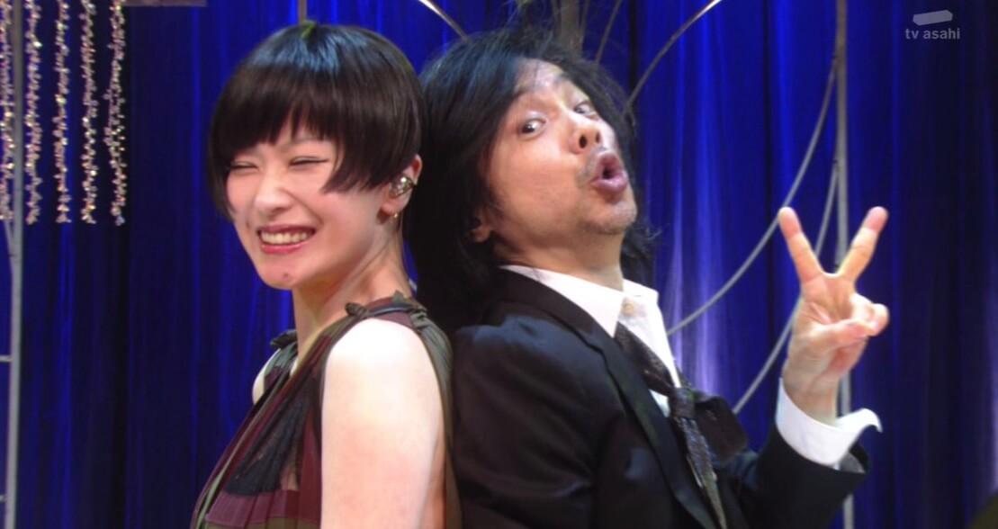 みやじ(宮本浩次)と椎名林檎のMステコラボ が至高最高!獣ゆく細道を2人で熱唱!